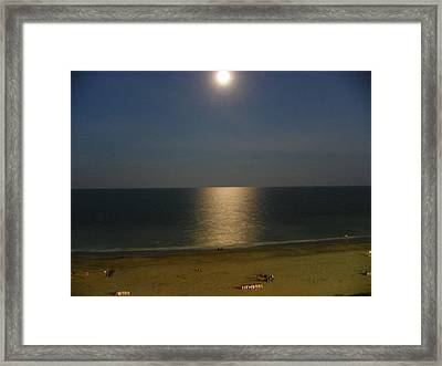 Framed Print featuring the photograph Moonscape by Chad and Stacey Hall