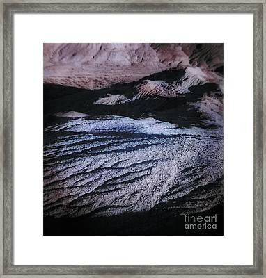 Moonscape Framed Print
