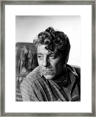 Moontide, Jean Gabin, 1942 Framed Print