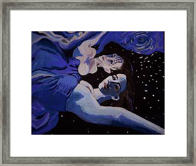 Moonwaters Framed Print by Adam Kissel