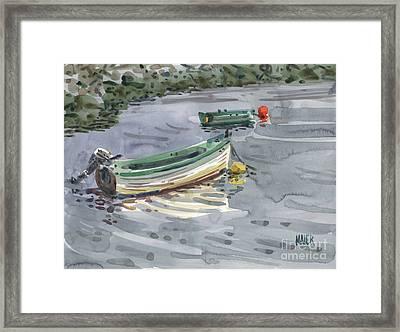 Moored Boats Framed Print