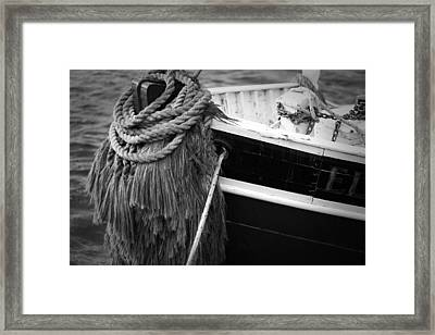 Moored Framed Print by Eric Gendron