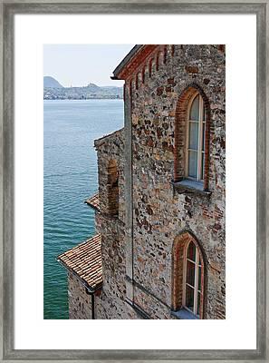 Morcote Framed Print by Joana Kruse