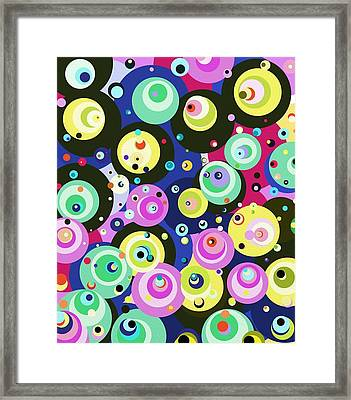 More Fun Framed Print by Janpen Sherwood