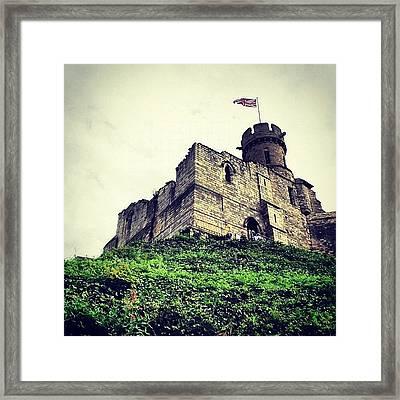 More Lincoln Castle Exploits!!! #castle Framed Print