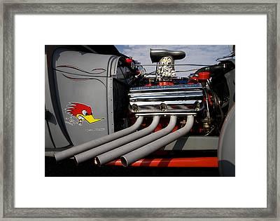 More Power Framed Print by Karen Lee Ensley