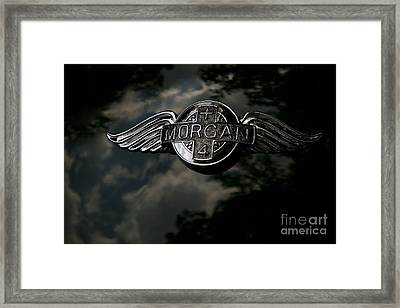 Morgan Framed Print by Dennis Hedberg