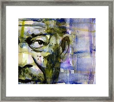 Morgan Framed Print