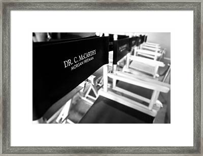 Morgans Throne Framed Print