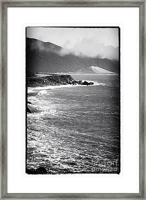 Morning Along The Coast Framed Print by John Rizzuto