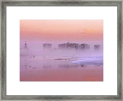 Morning At The Beach Framed Print by Steve K