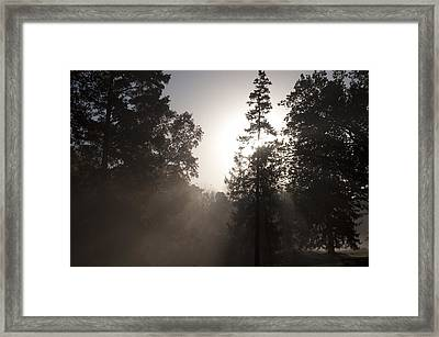 Morning At Valley Forge Framed Print by Bill Cannon