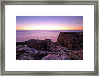 Morning Bliss Framed Print