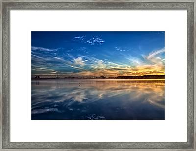 Morning Breeze Framed Print by Gary Smith