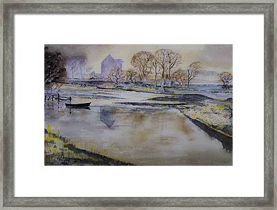 Morning Calm Framed Print by Rob Hemphill