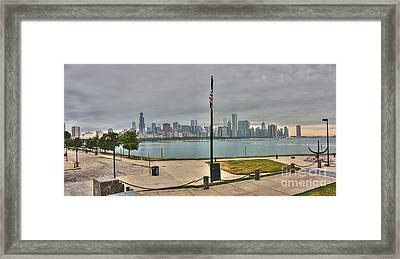 Morning Comes To The City Framed Print by David Bearden