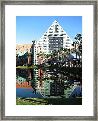 Morning Geometry Framed Print