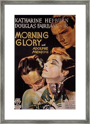 Morning Glory, Adolphe Menjou Framed Print by Everett