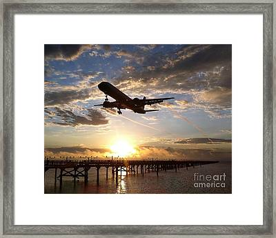 Framed Print featuring the photograph Morning Glory by Alex Esguerra