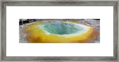 Morning Glory Pool, Yellowstone Framed Print by Tony Craddock