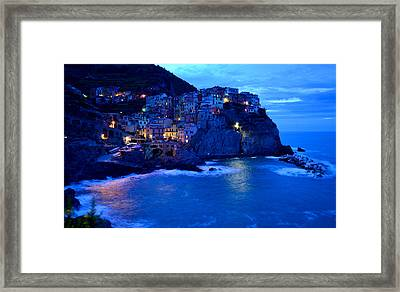 Morning In Manarola Framed Print