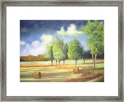 Morning Light Framed Print by Max Mckenzie