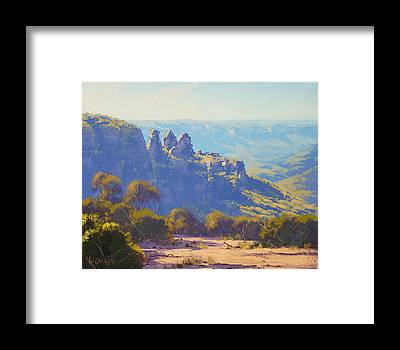 Three Sisters Framed Prints