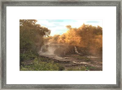Morning Mist   1 Framed Print by John Selmer Sr