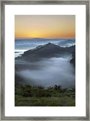 Morning Mist Framed Print by Dr Keith Wheeler