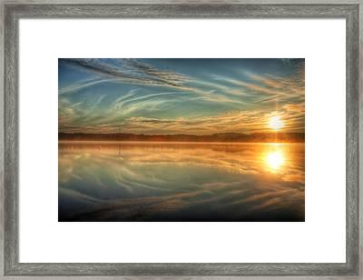 Morning Mist Framed Print by Gary Smith