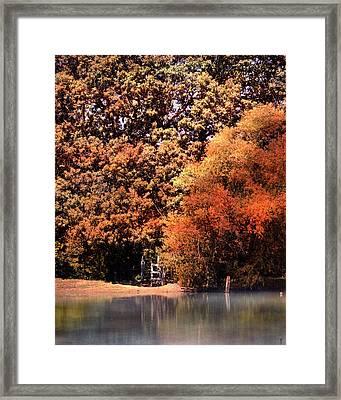 Morning Mist Landscape Framed Print by Jai Johnson