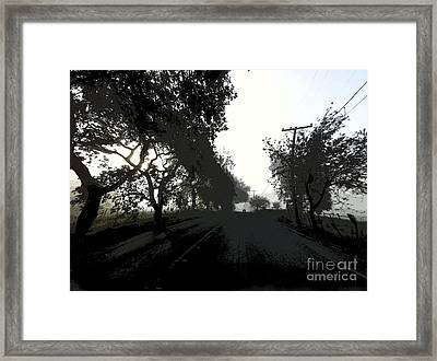 Framed Print featuring the photograph Morning Mist by Leslie Hunziker