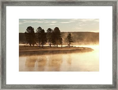 Morning Mists Framed Print by Corinna Stoeffl, Stoeffl Photography