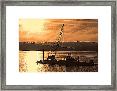 Morning On The Bay Framed Print by Dale Stillman