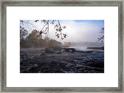 Morning On The Potomac Framed Print by Skip Willits