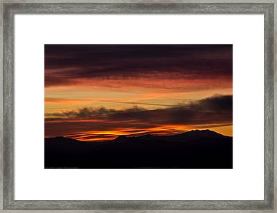 Morning Paint Framed Print by Edward Dasso