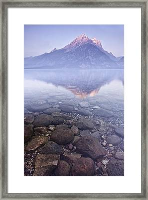 Morning Reflection  Framed Print by Andrew Soundarajan