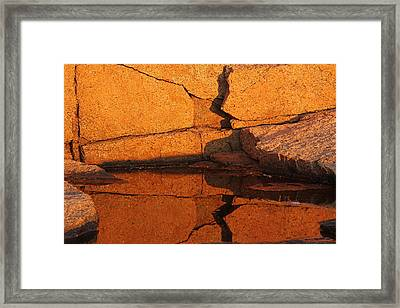 Morning Reflection Framed Print by Juergen Roth