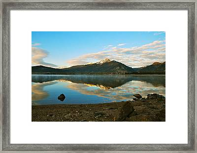 Morning Reflections Framed Print by Bob Berwyn