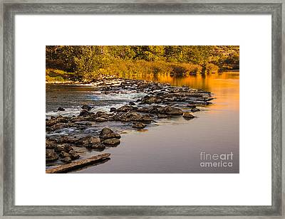 Morning Reflections Framed Print by Robert Bales