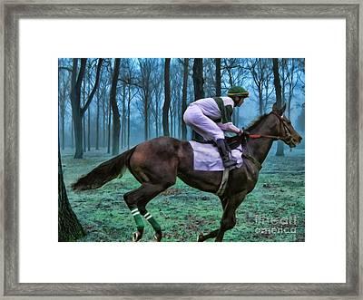 Morning Ride Framed Print