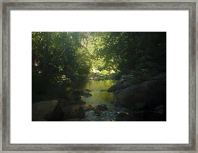 Morning River Framed Print by Daniel Milligan