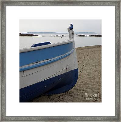 Framed Print featuring the photograph Morning Seascape by Lainie Wrightson