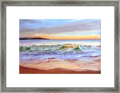Morning Serenity-phillip Island Framed Print by Nadine Kelly
