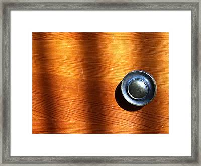 Framed Print featuring the photograph Morning Shadows by Bill Owen