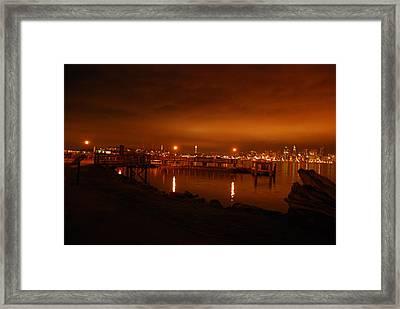 Morning Sky Framed Print