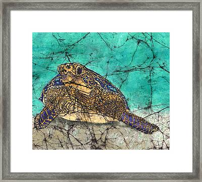 Morning Snack Framed Print by Shari Carlson