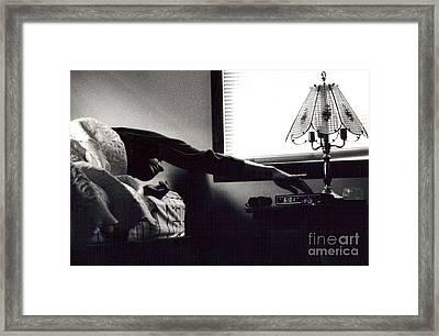 Morning Stretch Framed Print by Christina Moreno