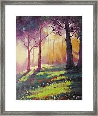 Morning Sunlight Framed Print
