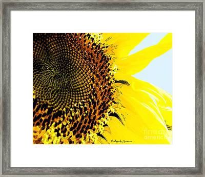 Morning Surprise Framed Print